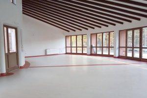 homogén Fortis PVC padló fektetés