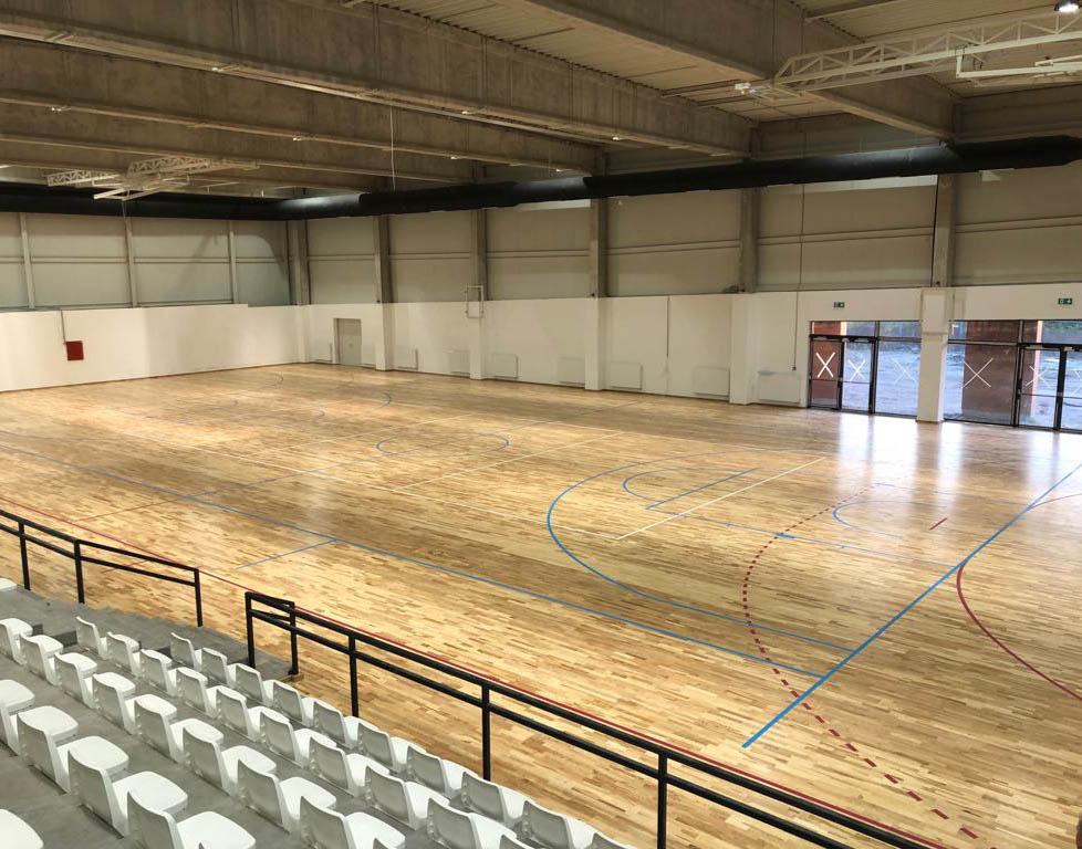 sportparketta rendszer kiépítés