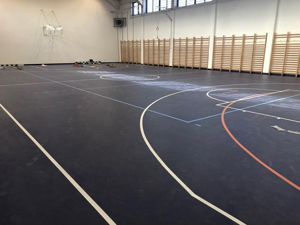 800m2 sportburkolat